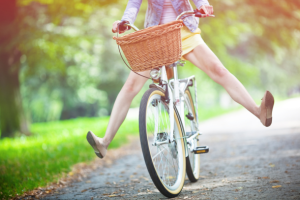 Woman-Riding-Bicycle